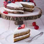 Торт со вкусом чая Эрл Грей и ягодами
